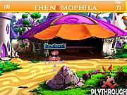 The Nemophila Tent House Hidden Alphabet game