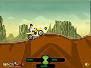 Ben 10 Stunt Ride game