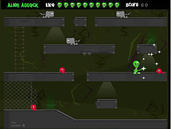 The Alien Attack game