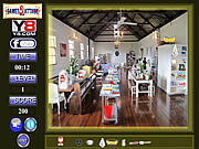 Cooking Hall Hidden Object game