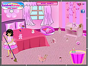 Pink Room Clean Up game