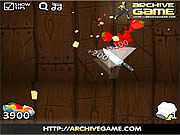 Fruit Ninja Kitchen War game