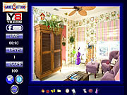 Rainbow Room Hidden Objects game