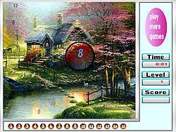 Amazing Landscape Hidden Numbers game