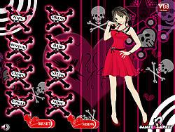Emo Girl Dress Up G2D game