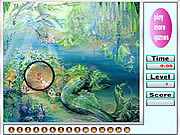 Sea and Mermaids Hidden Numbers game
