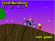 Crash Bandicoot Bike 2 game