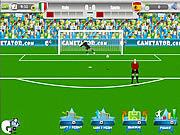 Juega al juego gratis Euro 2012 Free Kick