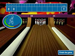 Acro Bowling game