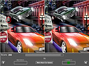 Juega al juego gratis Racing Car Five Difference