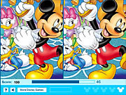 Mickey Mouse - Find 5 Difference game