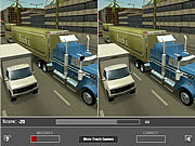 Juega al juego gratis Truck Differences