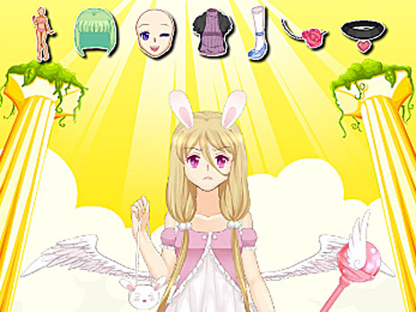 Cute Bunny Angel game