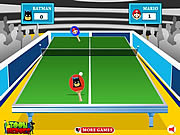 Juega al juego gratis Toon Table Tennis