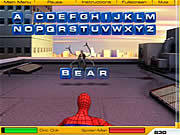 Spiderman 2 - Web of Words game