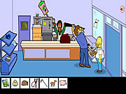 Juega al juego gratis Homero Simpson Saw Game