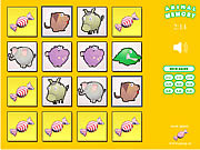 Snoep Animal Memory game