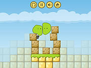 Blob and Blocks-Double Quest game