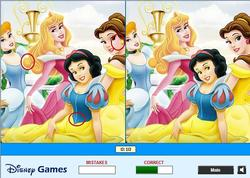Disney Cars - Find the Differences game