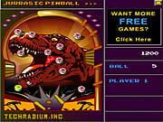 Jurassic Pinball game