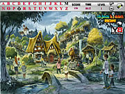 Juega al juego gratis Village Hidden Alphabets Game