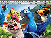 Rio and Kong Hidden Alphabets game