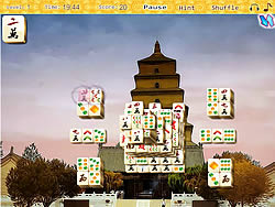 China Tower Mahjong game