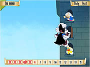 Scarlet Pumpernickel in Tower Rescue game