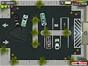 Police Station Parking game