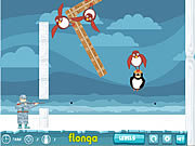 Juega al juego gratis Flying Penguins