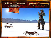 שחקו במשחק בחינם Pirates Of The Caribbean Whack A Crab