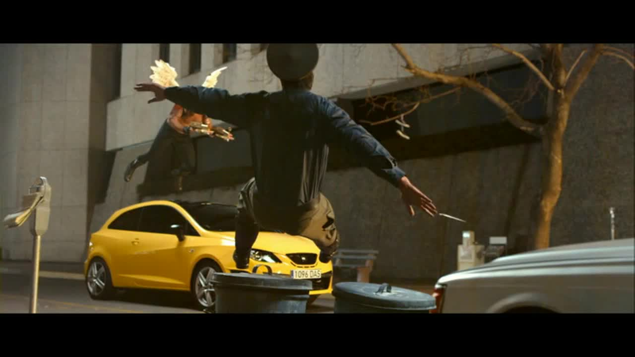 Watch free video SEAT Ibiza Commercial: Cupid