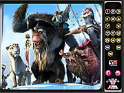 Hidden Numbers-Ice Age 4 game