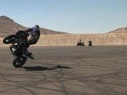 Watch free video Motorcycle Rider Doing Tricks