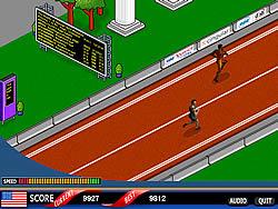 Grab the Glory: 100 Meter Sprint game