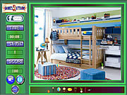 Cute Boys Room Hidden Objects game