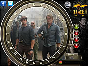 The Expendables 2 - Find the Alphabets game