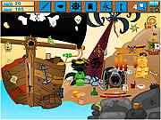 Ninja Pirate Hidden game