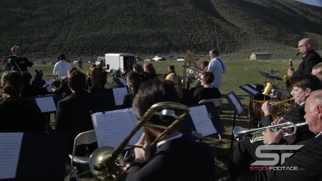Watch free video Outdoor Orchestra