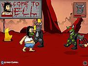 เล่นเกมฟรี Hobo 6 Hell Game