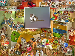 Cats House game