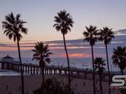 Watch free video Timelapse at Manhattan Beach in California