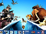 Hidden Spots Ice Age 4 game