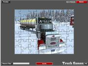 Extreme Truckers Puzzle Game game