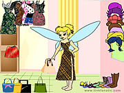 Tinkerbell Dress up 3 game