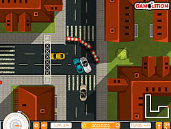 Downtown Porsche Racing game