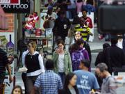 Watch free video Walking in Downtown San Francisco - Slow Motion