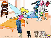 Tinkerbell Dress up 7 game