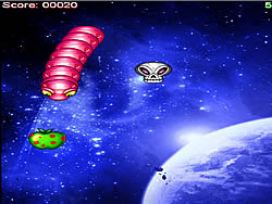 Space Worm game