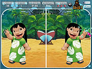 Lilo and Stitch - Find the Difference game